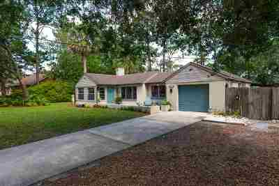St Augustine Single Family Home For Sale: 244 Estrada Ave
