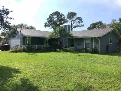 St Augustine Single Family Home For Sale: 6893 Sea Place Avenue