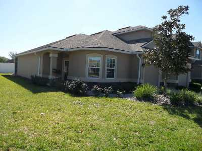St Augustine Townhouse For Sale: 474 Wooded Crossing Circle (Flat)