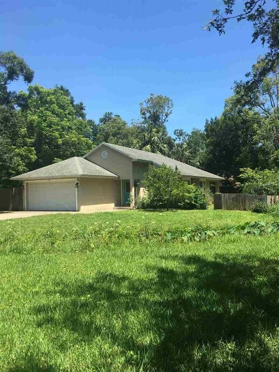 St Augustine Single Family Home For Sale: 38 Madeore St