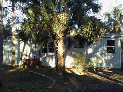 St Augustine Single Family Home For Sale: 4470 Sartillo Road