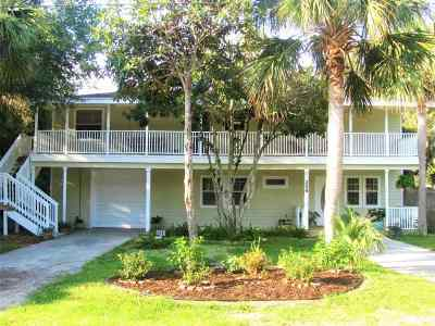 St Augustine Single Family Home For Sale: 229 Dondanville