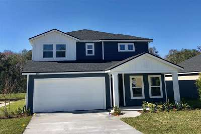 St Augustine Single Family Home For Sale: 277 Sawmill Landing