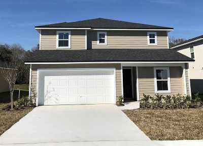 St Augustine Single Family Home For Sale: 297 Sawmill Landing