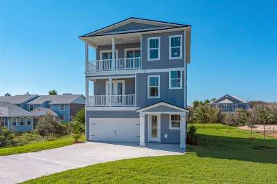 St Augustine Beach FL Single Family Home For Sale: $799,900
