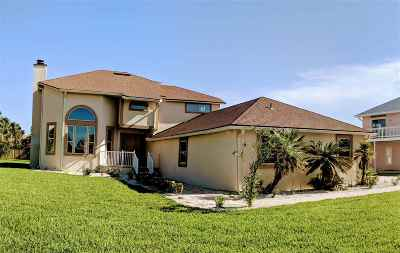 St Augustine Beach Single Family Home For Sale: 7 Ocean Trace