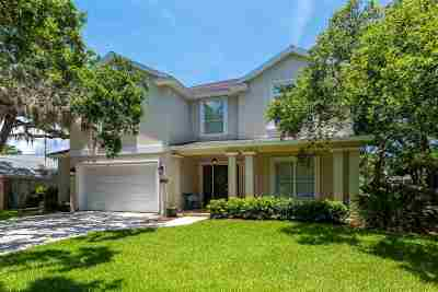 St Augustine FL Single Family Home Contingent: $799,000