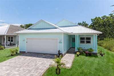 St Augustine Single Family Home For Sale: 5448 Fourth Street