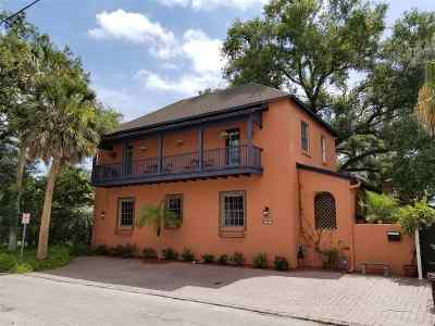St Augustine FL Single Family Home Contingent: $585,000