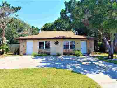 St Augustine Beach FL Multi Family Home Contingent: $369,900