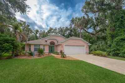 Palm Coast Single Family Home For Sale: 14 River Oaks