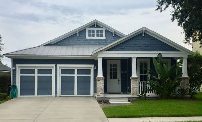 St Augustine Beach FL Single Family Home For Sale: $399,950