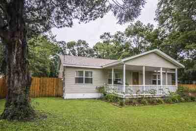 Jacksonville Single Family Home Contingent: 13625 Lanier Rd