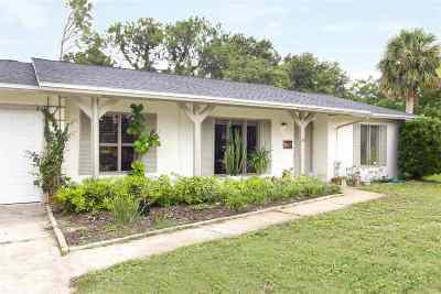 St Augustine FL Single Family Home For Sale: $289,000