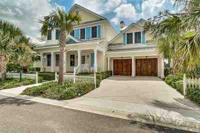 St Augustine Beach Single Family Home For Sale: 700 Ocean Palm Way