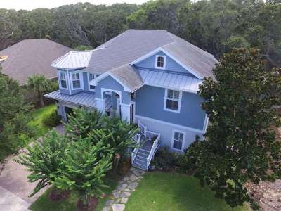 St Augustine Beach FL Single Family Home For Sale: $749,000