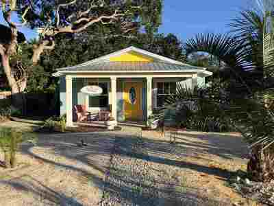 St Augustine Single Family Home For Sale: 307 11th