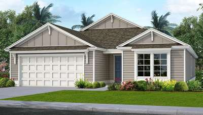 St Augustine FL Single Family Home For Sale: $335,990