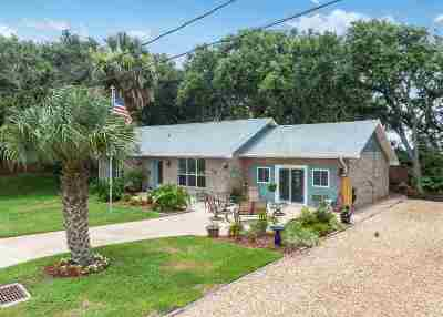 St Augustine Beach Single Family Home For Sale: 120 15th Street