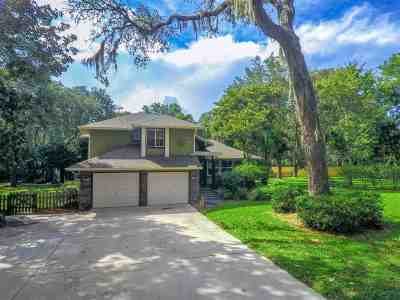 St Augustine Single Family Home Conting_accpt Backups: 241 Creekside
