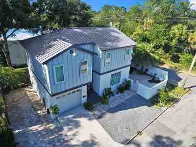 St Augustine Single Family Home Contingent: 76 De Haven Street