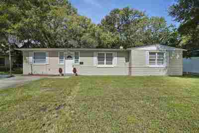 Jacksonville Single Family Home Contingent: 3534 Indigo Dr