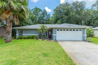 St Augustine FL Single Family Home For Sale: $199,000