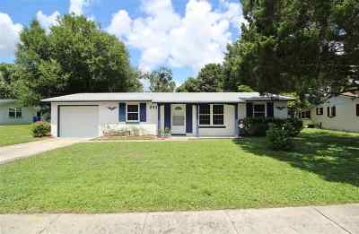 St Augustine Single Family Home For Sale: 253 Hermosa Court