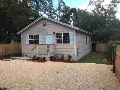 St Augustine Single Family Home For Sale: 540 Christopher St