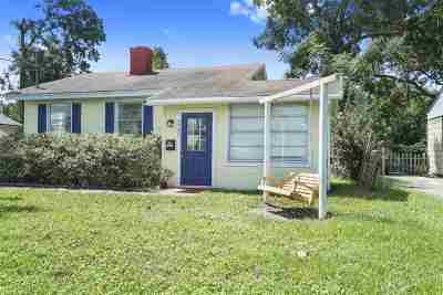 Jacksonville Single Family Home For Sale: 4722 Pinewood Dr