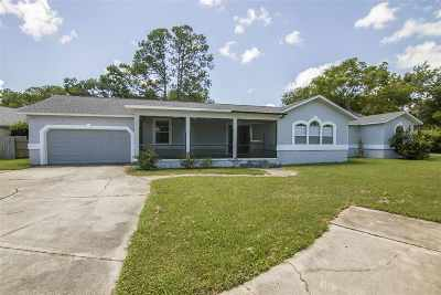 St Augustine Single Family Home For Sale: 499 Del Monte Dr