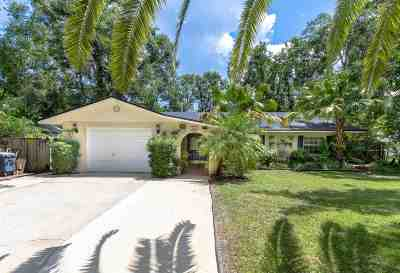 St Augustine Single Family Home For Sale: 165 Hawthorne Road
