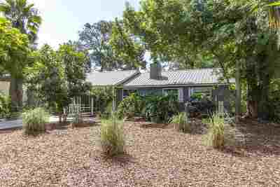 St Augustine Single Family Home For Sale: 17 Fancher
