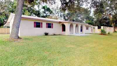 St Augustine FL Single Family Home For Sale: $429,000