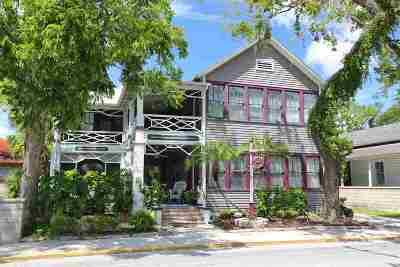 St Augustine Single Family Home Conting_accpt Backups: 38 Cordova Street