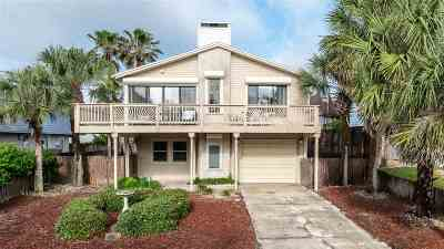 St Augustine Single Family Home For Sale: 5355 Altantic View