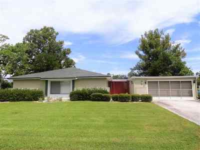 Palm Coast Single Family Home For Sale: 3 Campbell Ct