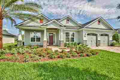St Augustine Single Family Home For Sale: 199 Pescado Drive
