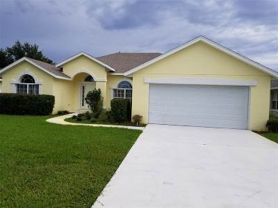 St Augustine FL Single Family Home Conting_accpt Backups: $345,900
