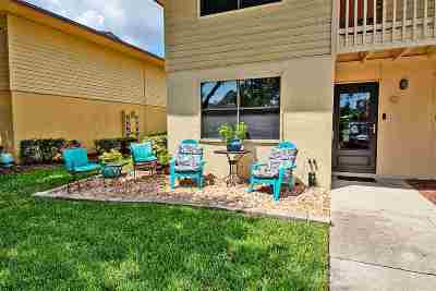St Augustine Condo For Sale: 650 W. Pope Road #237