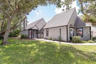 Villages Of Vilano Single Family Home For Sale: 101 Coastal Hollow Cir