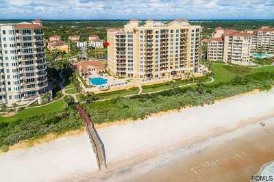 Palm Coast Condo For Sale: 19 Avenue De La Mer #806