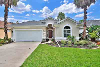 Ocean Palms Single Family Home For Sale: 616 Casa Fuerta Ln