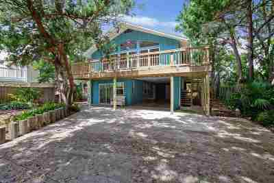 Vilano Beach Single Family Home For Sale: 152 Manresa
