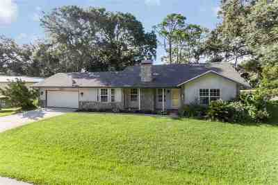St Augustine Beach Single Family Home For Sale: 313 C Street