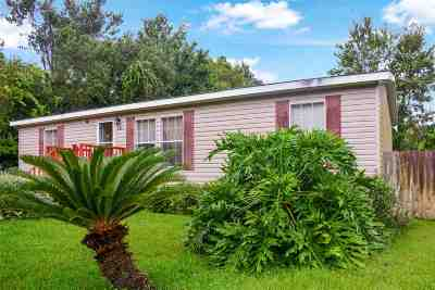 St Augustine FL Single Family Home For Sale: $169,900