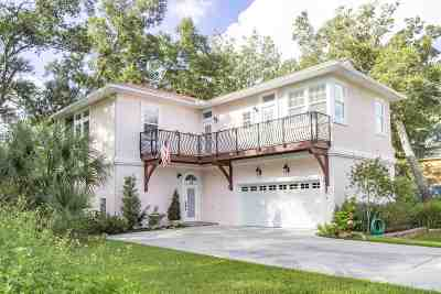 St Augustine Single Family Home For Sale: 15 Poinciana Cove Rd