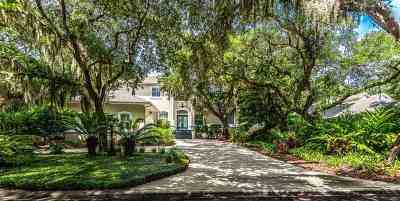 St Augustine Beach FL Single Family Home For Sale: $725,000
