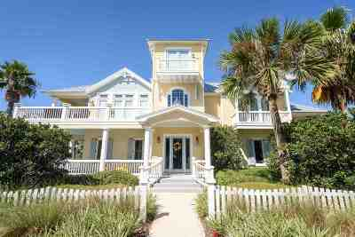 St Augustine Beach FL Single Family Home For Sale: $1,059,000