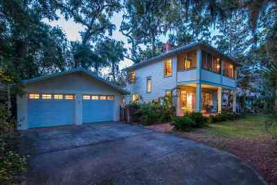 St Augustine Single Family Home For Sale: 8 Milton Street